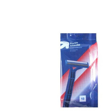 Men's Twin Blade Disposable Razor - 12ct - Up&Up™ (Compare to Sensor2)