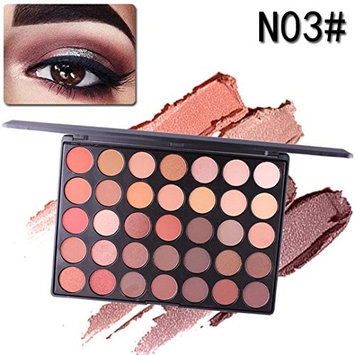 Eyeshadow Palette Matte, Makeupstore 2018 35 Color Shimmer Glitter Eye Shadow Powder Matt Eyeshadow Cosmetic Makeup