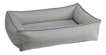 Bowsers Pet Products Bowsers Urban Lounger Pet Bed Taupe Herringbone, Size: Small