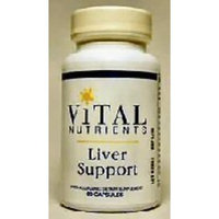 Vital Nutrients - Liver Support II (with Picrorhiza and Milk Thistle) - Herbal Combination to Support Healthy Liver Function - 60 Capsules