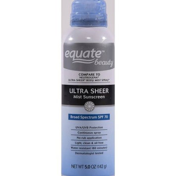 Equate Beauty Ultra Sheer Mist SPF 70