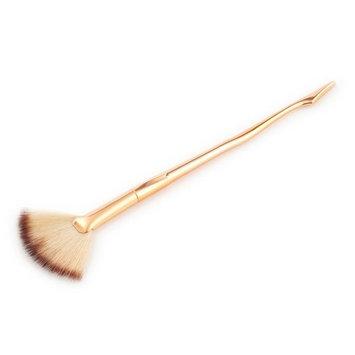 RNTOP Legs Makeup Small Fan Goat Hair Blush Face Powder Foundation Cosmetic Brush