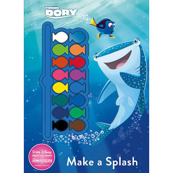 Parragon Inc Disney Pixar Finding Dory Make a Splash Paint Palette Coloring and Activity Book