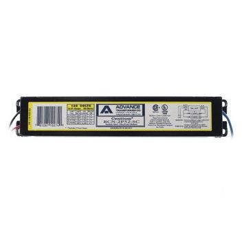 Advanced Ballasts Advance Philips RCN-2P32-SC Rapid-Start Ballast, 2-Lamp, F32T8, 32W T8, 120V