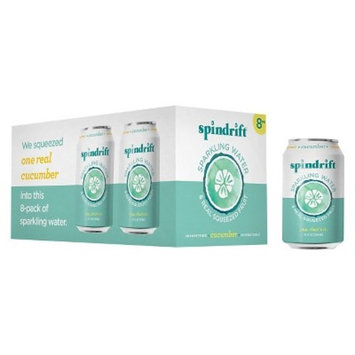 Spindrift Sparkling Water Cucumber -8pk/12 fl oz Cans