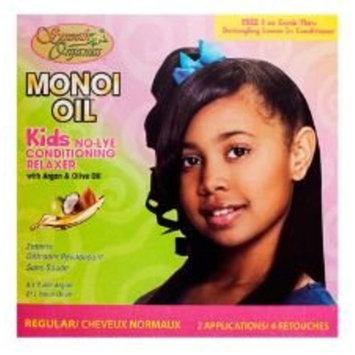 Smooth Organics Monoi Oil No Lye Conditioning Relaxer Kit - Regular Kids (2 Pack)