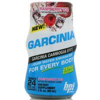 BPI Sports, Garcinia Liquid Water Enhancer, Raspberry Ice, 2 fl oz (60 ml) [Flavor : Raspberry]