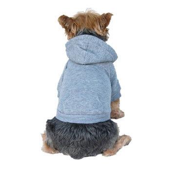 M & D Elecparts Company Ltd. Burgundy Hoodie Sweatshirt for Dogs