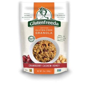 GLUTENFREEDAS CRANBERRY CASHEW HONEY, 12 OZ (Pack of 6)