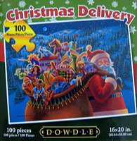 Christmas Delivery 100pc. Dowdle Puzzle