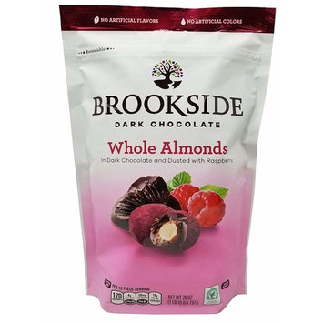 Brookside Whole Almonds in Dark Chocolate and Dusted with Raspberry, 26oz
