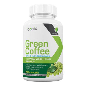 Iconic Green Coffee- Complete Premium Weight Management Formula-Natural and Potent Weight Loss Pills for Men and Women – Burn Belly Fat – Metabolism Booster –