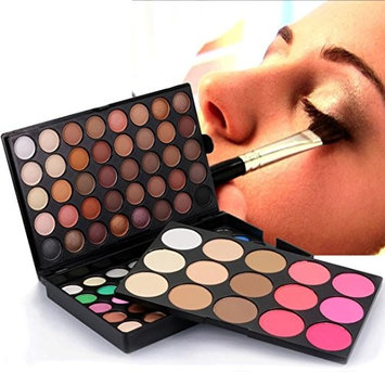 Laimeng,95 Colors Cream Eyeshadow Palette Cosmetic Matte Shimmer Eye Shadow Makeup Set