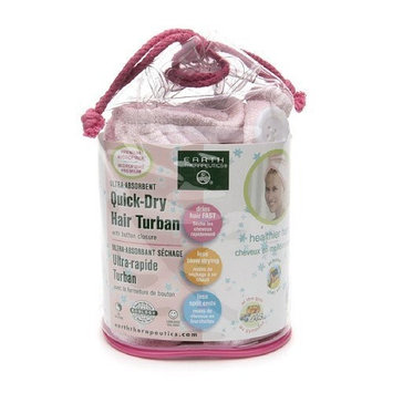Earth Therapeutics Ultra-Absorbent Quick-Dry Hair Turban 1 ea