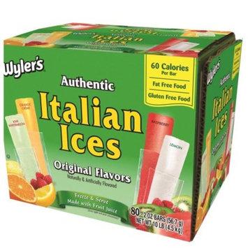 Wyler's Italian Ice Freezer Bar (2 oz., 80 ct.)