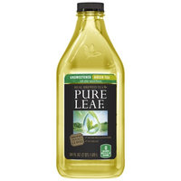 Pepsi Pure Leaf Iced Tea, Unsweetened Green Tea, 64 Fl Oz, 1 Count
