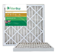 AFB Gold MERV 11 24x25x2 Pleated AC Furnace Air Filter. Filters. 100% produced in the USA. (Pack of 2)