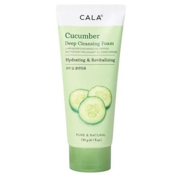 ARRIVAL] CALA CUCUMBER DEEP CLEANSING FOAM HYDRATING & REVITALIZING 4.1OZ : Beauty