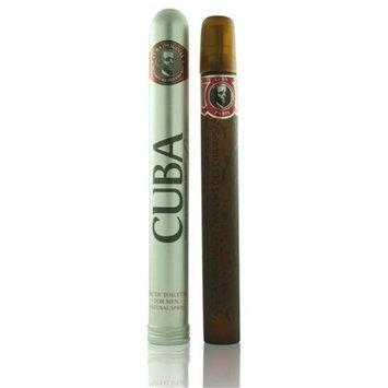 Parfums Des Champs MCUBARED1.17SPR 1.17 oz Mens Cuba Red Eau De Toilette Spray