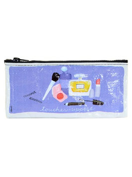 Blue Q Pencil Cases toucher-uppers, 4 1/4 in. h x 8 3/4 in. w [pack of 3]