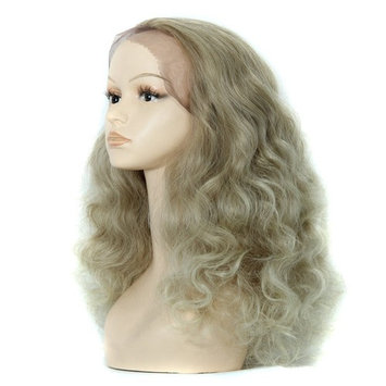Full Long Lace Front Natural Women's Curly Wavy Hair Anime Cosplay Party Wigs