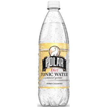 Polar Diet Tonic Water, 33.8 Fl Oz (Pack of 12)