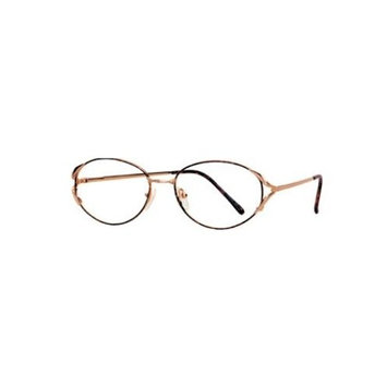 Triumph Optical Shoshana Womens Eyeglasses Gold & Black