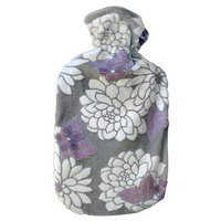 Acqua Sapone Fleece Water Lily Fuzzy Cover for 2l Fashy Bottle (bottle not included)