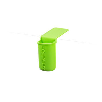 Holster Brands Lil' Holster Skinny, Silicone Toothbrush and Organizer for Bathroom Storage