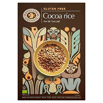 Doves Farm Organic Gluten Free Cocoa Rice (375g) - Pack of 2