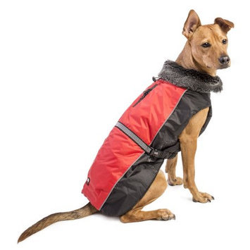 Dog Gone Smart Bed 38952 Aspen Parka 10 in Scarlet
