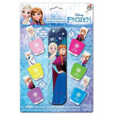 Finding Dory FZ0577SA 6 Per Pack Nail Polish with File Frozen Pack of 12