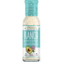 Primal Kitchen Ranch Dressing, With Avocado Oil, 8 Oz