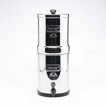 Berkey BT2x2-BB Travel Berkey 1.5 gal. Stainless Steel Water Purifier