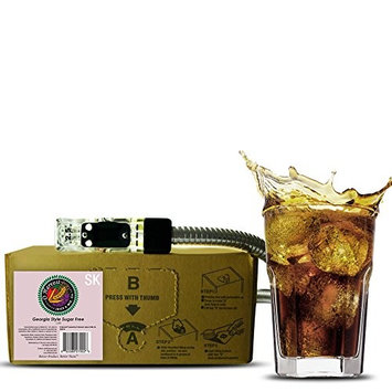 Georgia Style Craft Sugar Free Cola (3 Gallon Bag-in-Box Syrup Concentrate) - Box Pours 18 Gallons of Diet Cola - Use with Bar Gun, Soda Fountain or SodaStream