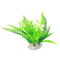 Aquarium Fish Bowl Landscaping Water Plant Ornament Green 4