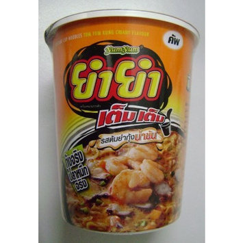 YUM YUM Cup Noodles Tom Yam Goong Flavour Creamy Soup 60g (Pack of 6)