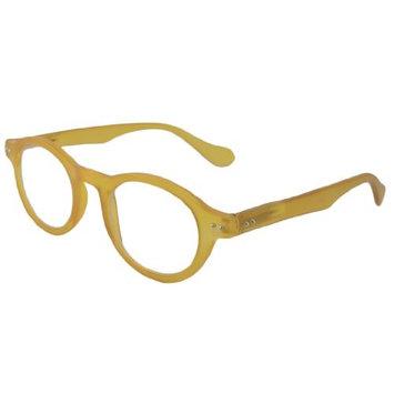 ComputerEyed Reading Glasses Reading Glasses - Round Lucite Honey /
