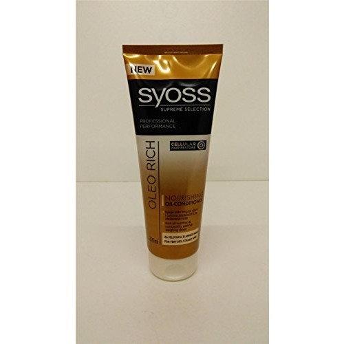 Syoss Oleo Rich Nourishing Oil Conditioner TWINPACK 2x250ml
