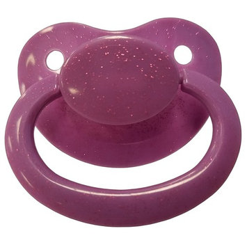 ENVY BODY SHOP Adult Sized Glitter Pacifier Dummy for ADULT BABY ABDL BigShield
