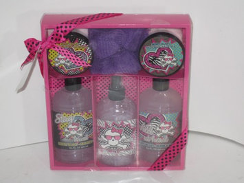 Band New Pink Cookie 6 piece bath and body car/ gift set