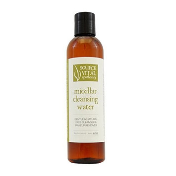 Source Vitál Apothecary | Micellar Cleansing Water | All-Natural Makeup Remover | 8.39 Fl. Oz.