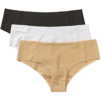 Women's Seamless Performance Hipster Underwear, 3 Pack