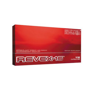 Scitec Nutrition Revex-16, Fat Burner, 108 Caps