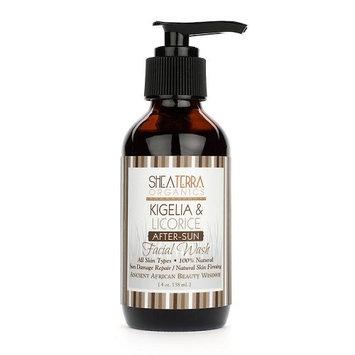 Kigelia & Licorice After-Sun Facial Wash by Shea Terra