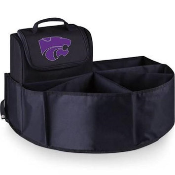 Picnic Time 715-00-179-254-0 Kansas State University Digital Print Trunk Boss in Black with Cooler