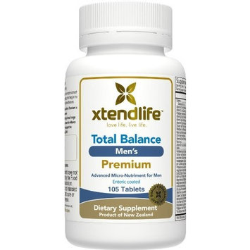 Xtend-Life Total Balance Men's PREMIUM Multivitamin / Multinutrient Supplement for Anti-Aging & General Health (105 Enteric Coated Tablets)