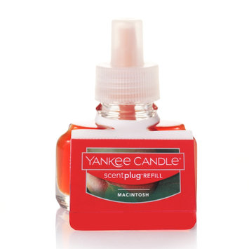 Yankee Candle Macintosh Scent-Plug Electric Home Fragrancer Refill, Med Red