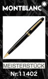 Montblanc Legrand Gold-Plated Rollerball Black Resin Pen 162