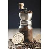 Kilner Traditional Coffee Grinder Manual Coffee Bean Mill With Kilner Jar & Lid